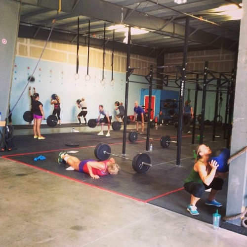 Saturday's WOD - positively electric!
