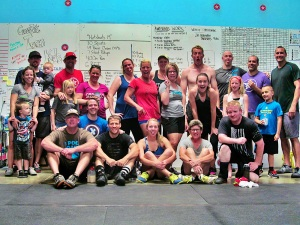 Thanks to all who joined for today's Memorial Day WOD!